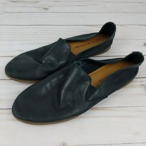 Lucky Brand Slip On Leather Flats Loafers 6.5